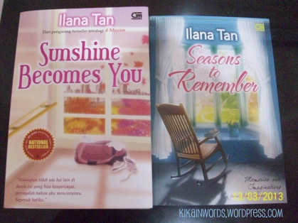 """Sunshine Becomes You"" & ""Seasons to Rember"" by Ilana Tan"