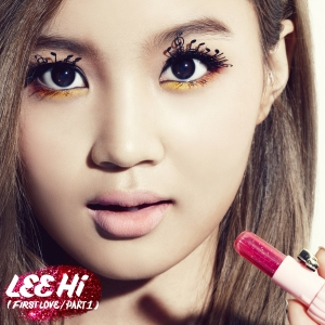 "Album Cover Lee Hi ""First Love"" Part 1"